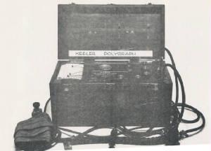 Първият полиграф на Леонард Кийлър, (Емотограф)