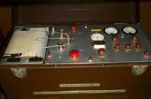 Полиграфски инструмент на Леонард Кийлър - Психогалванометър